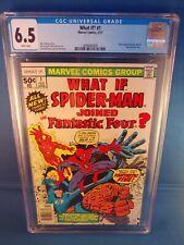What If? #1 CGC 6.5 Marvel Comics Brief Origin of Spider-Man & Fantastic Four