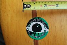 Vision Skateboards Street Violator Psycho Eye Vintage 80s Skateboarding Sticker