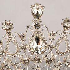 Hot Wedding Bridal Rhinestone Hair Headband Crown Comb Tiara Prom Pageant