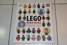 Lego minifigure year by year visual history book, brand new, sealed hardcover