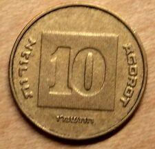 Israel, 10 Agorot