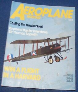 AEROPLANE MONTHLY JULY 1984 - TESTING THE HAWKER HART