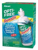 Opti-Free RepleniSH 2X300ML All-in-One Lösung von Alcon