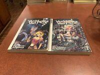 Van Von Hunter Volumes 1 & 2 English Manga Mike Schwark Tokyopop FREE SHIPPING