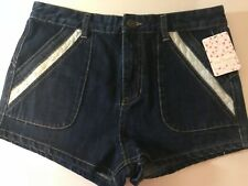 Free People High Waisted Jean Shorts