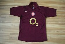SIZE MEDIUM ARSENAL LONDON 2005-2006 HOME FOOTBALL SHIRT JERSEY NIKE HIGHBURY