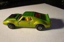 1972 Matchbox Superfast Green AMX Javelin Car  #9 clean