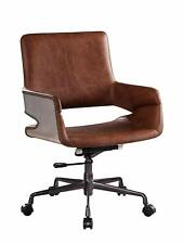 ACME Furniture Kamau Executive Office Chair with Lift, Vintage Cocoa Top