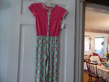 GIRLS J. KHAKI KIDS NEW WITH TAGS SIZE 6X ONE PIECE SHORT SLEEVE OUTFIT GREEN AN