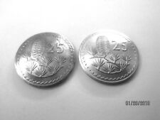 Cyprus Pine Cone antique coin cuff links