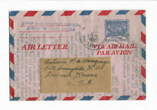 1949 Manila Philippines Canceled Airmail Cover
