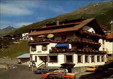 Obergurgl Österreich Tirol Ötztal Autos Restaurant Hotel Fender Postkarte ~1970