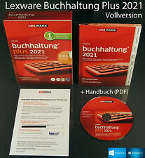 Lexware contador plus 2021 versión completa box + CD, manual PDF, actualizaciones OVP nuevo