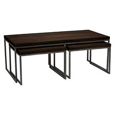 JOHN LEWIS CALIA COFFEE TABLE with NEST OF 2 TABLES, DARK