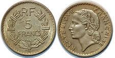 5 FRANCS LAVRILLIER 1946 BRONZE ALU