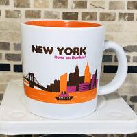 Dunkin Donuts New York Runs on Dunkin Coffee Mug