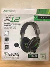 Turtle Beach Headsets Ear Force X12 Amplified Stereo Gaming Xbox 360 Discontinue