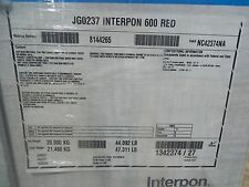 Interpon JG0237 Interpon 600 RED Powder Coat Coating 44lbs New