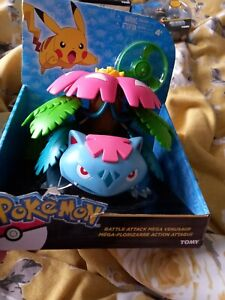 Official pokemon 2015 tomy battle attack venusaur figure BNIB RARE