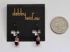 Dabby Reid Heidi Earrings Swarovski Rose Volcano Crystals Hde4108B