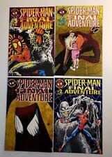 SPIDER-MAN THE FINAL ADVENTURE #1-4 COMPLETE SET MARVEL COMICS 1995