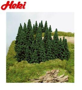 Heki H0/TT/N 2190 100 Steckfichten 5 - 14 cm - NEU + OVP