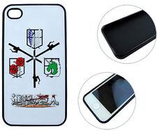 !!! Attack on Titan Shingeki no Kyojin Anime/Manga Phone case for iPhone 4/4s!