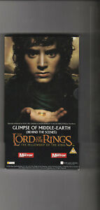 VHS Video - THE LORD OF THE RINGS: Glimpse Of Middle Earth (PAL)