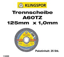 Klingspor Trennscheiben A60TZ (1133509)