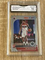 2019-20 RUI HACHIMURA NBA HOOPS PREMIUM STOCK RC #206 ROOKIE GMA 10 GEM MINT📈🔥