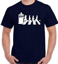 Dr Who - Abbey Road - Herren Lustiges Parody Mash Up Gallifrey die Beatles