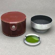 34mm Lens Hood & Ceneiplan Filter Yellow-Green