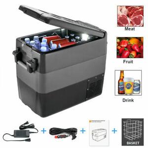 40L Portable Electric 42Quart Car Cooler Outdoor Freezer Refrigerator Compressor
