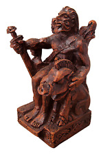 Seated Freyr Statue - Norse Viking God Figure Dryad Design - Asatru Statuary