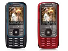 Samsung Rant SPH M540 - Black/Red - (Sprint) Slide Phone Tello Twigby Compatible