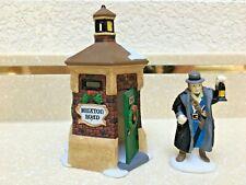 Dept 56 Hawthorne Village Brixton Rd Watchman (2 Pieces) Porcelain Retired