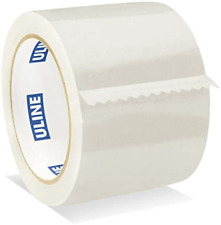 Clear Packing Tape 3 Inch X 55yd 26 Mil Rolls Carton Sealing By Uline 4 Pack
