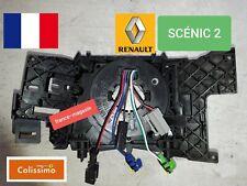 Contacteur tournant Airbag Renault SCÉNIC 2 + support Reconditionné à neuf.