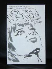 Raymond Pettibon#FIRST PERSON SHOW # ltd.ed. 9/100,Mint