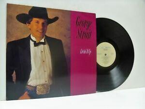 GEORGE STRAIT livin' it up (1st uk press) LP EX+/EX-, MCG 6115, vinyl, album,