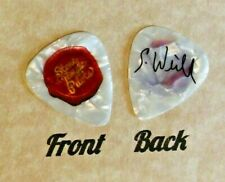 STONE TEMPLE PILOTS stamp band logo Scott Weiland signature guitar pick (W)