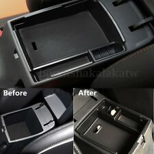 Car Center Console Armrest Storage Box Tray Organizer+Mat For Hyundai IX25 Creta