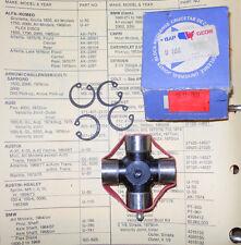 NOS LEMEX U-Joint U166. 1964-1968 BMW w/ Prop shaft --->