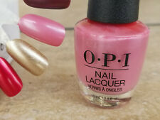 Opi Nail Polish Aphrodite's Pink Nightie Nl G01 Shimmery Pink! New!