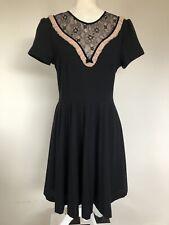 Alannah Hill Wool Dress Sz 12