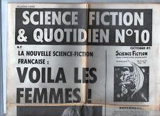 Fanzine - Science Fiction & Quotidien°10. Octobre 1981. Frémion, Tignous