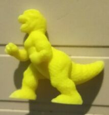 MIMP monster in my pocket neon yellow T-rex #6 meg matchbox Tyrannosaurus
