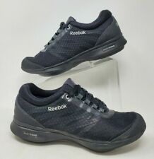 Reebok EasyTone Black Mesh Lace Up Athletic Sneakers Shoes Womens 9