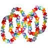 50 x Tropical Hawaiian Flower Necklaces Lots of Necklaces Hawai Floral Suit R2U1