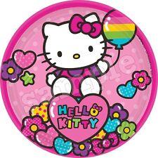 Hello Kitty Deco Gateau Disque Azyme Comestible Anniversaire 20 cm